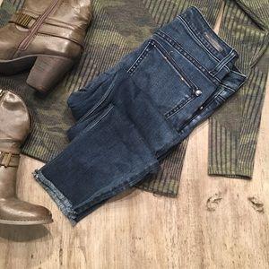 {PATLP} Anthropology script jeans